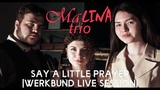 MaLINA Trio - Say A Little Prayer (In memory of Aretha Franklin) | Werkbund Live Session