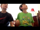 Foot tickle challenge [Gavin and Evan Productions].mp4