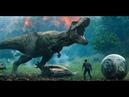 Carnotaurus VS Triceratops/Rugido Del T-Rex-Jurassic World Reino Caído