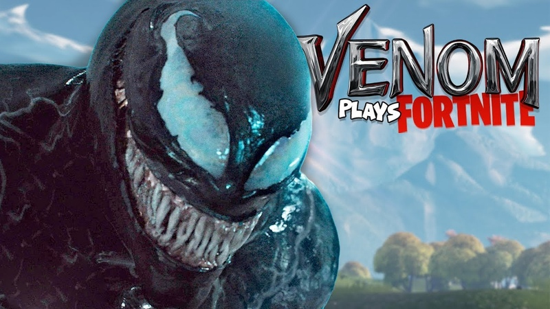 VENOM Voice Impression SCARES players on Fortnite Battle Royale!