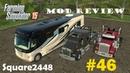Farming Simulator 2015 Mod Review 46 Mobile Home Camper Kenworth Semi's