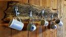 Tassenhalter für die Wand selber bauen