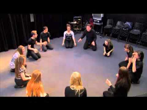 Theatre Game 14 - Frog In The Pond. From Drama Menu - drama games ideas for drama.