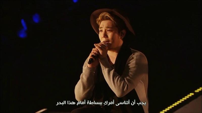 Kangin - Heartbreak (From SS6 SOLO) {Arabic Sub}