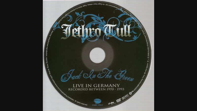 JETHRO TULL Jack In The Green LIVE IN GERMANY 1970 1993@ 2008