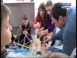Башня из лапши: необычный конкурс для строителей проходит в Кольцове