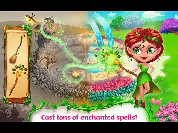 Fairy Land Rescue | spell books | magic village | snowmen blooming flowers HD 2
