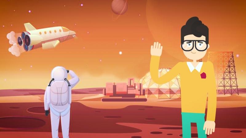 Что случится с телом, если умереть на Марсе? | Перевод DeeAFilm