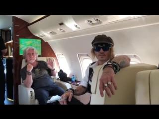 """""""Голливудские вампиры"""", тур-2018. 30 июня, полет в Австрию (2)"""