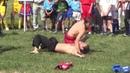 Змагання з футболу. Виступ секції тайбоксу СК Восток , Білокуракине, 11.05.2012