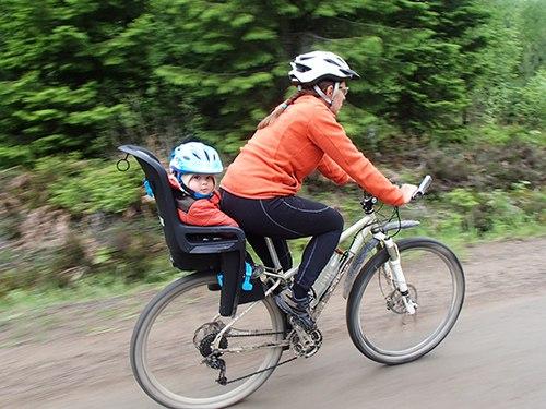велокресло Thule ride along