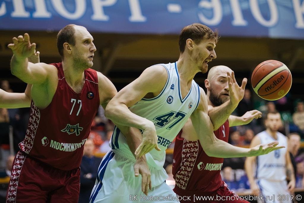 Мужская команда ПБК МБА побеждает в Новосибирске и сохраняет шансы на выход в плей-офф