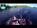 Неожиданная рыбалка! Идиоты на моторных лодках! Приколы на рыбалке 2018!