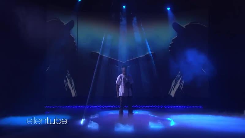 Выступление Travis Scott с композицией «Sicko Mode» на шоу «Ellen Show»
