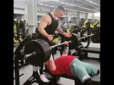 Тимур Гадиев - жим лежа 200 кг