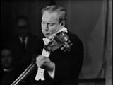 Bach, Adagio &amp Fugue from Sonata BWV 1001 - Isaac Stern