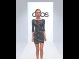 Сверкающее черное платье New Look ASOS диаманты