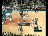 FUNNY - Shaq catches Nate Robinson in the air