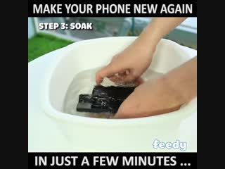 phone cleaning
