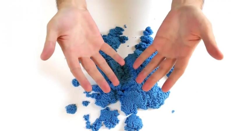 Цветной кинетический песок Kinetic Sand
