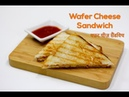 Instant Wafer Cheese Sandwich Sandwich Ready in 5 minutes Sandwich Recipes Chef Harpal Singh
