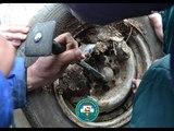 В Уфе спасатели освободили пальцы ребёнка из автомобильного диска
