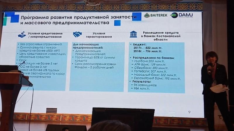 DAMU Kostanay Invest 2018