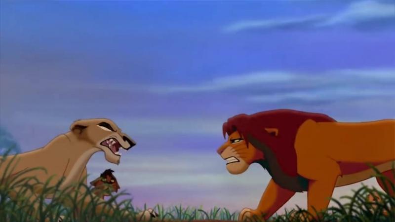 Король лев История Зиры и Шрама Zira and Scar
