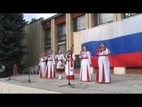 Народный коллектив чувашской песни