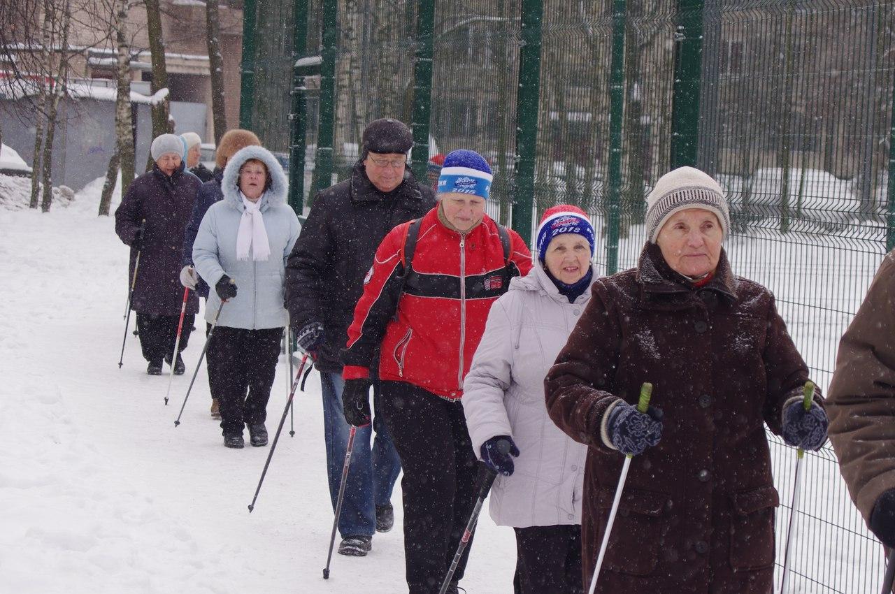 Дню защитника Отечества спортивно-массовое мероприятие по скандинавской ходьбе (Nordic Walking)
