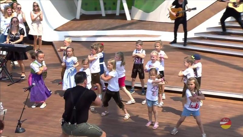 Andreas Gabalier «Hulapalu» ZDF-Fernsehgarten 03.06.2018