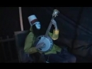 Buckethead Shreads on banjo