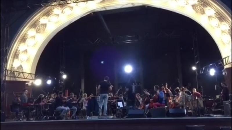 Gothic Meets Klassik Orchesterprobe.