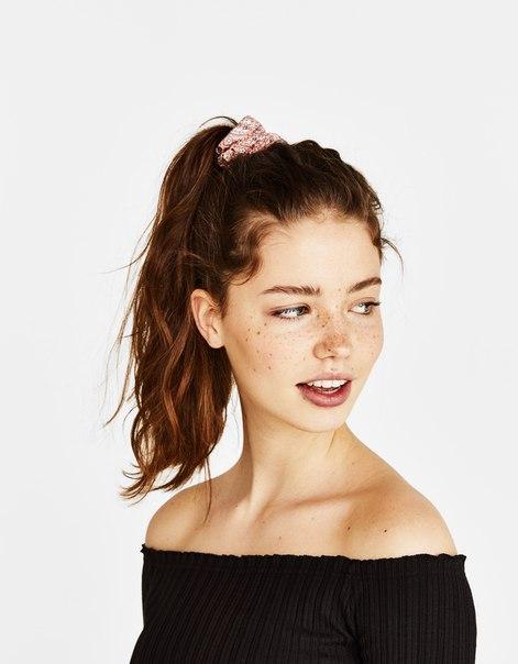 Набор из 3 резинок для волос с цветочным принтом