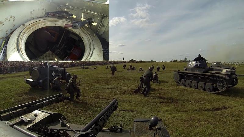 Inscenizacja bitwy pod Mławą 26.08.2017