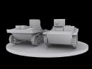 Моделирование танка T 37 3DMax SSCinema
