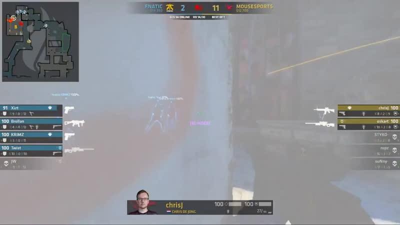 Oskar взял 1в4 всего лишь двумя выстрелами