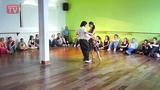 Gaston Torelli y Moira Castellano DNI Tango Studio Buenos Aires, Argentina February 2010 (3)