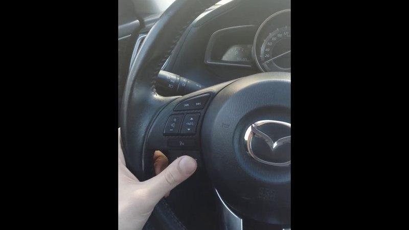 Голосовое управление навигацией Mazda