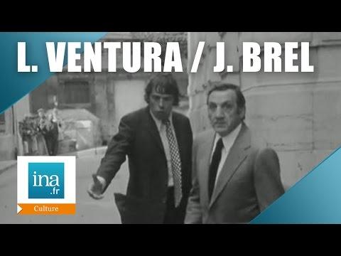 Jacques Brel et Lino Ventura L'emmerdeur | Archive INA
