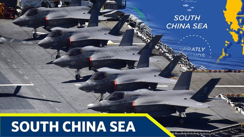 CHINA PANIC US Warship Carrying Fighter Jets to South China Sea Sail in disputed Scarborough Shoal
