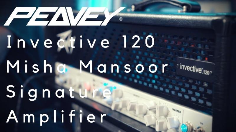 Peavey Invective 120 | Misha Mansoor Signature Amplifier | THE BEST 5150 EVER?!?