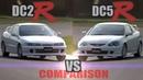 [ENG CC] Integra Type R DC2 vs. DC5 - Tsukuba lap comparison 2001