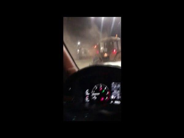 Немного об уборке дорог в Центральном округе Комсомольска