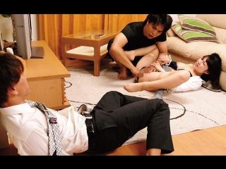 Miyuki kato. drama. трахнута соседом при муже. fucked up in front of her husband by neighbor. cuckold. cheating wife.