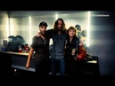 Un released video of Chris Cornell Audioslave discussing reunion backstage at Anti Inaugural Ball