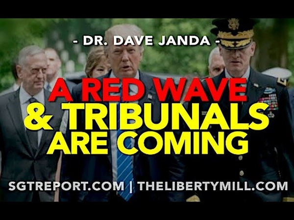 A RED WAVE TRIBUNALS ARE COMING -- Dr. Dave Janda