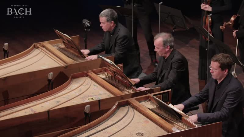 1063 a J. S. Bach - Concerto for 3 Harpsichords in D minor, BWV 1063 - Lars Ulrik Mortensen, Siebe Henstra, Menno van Delft AoB