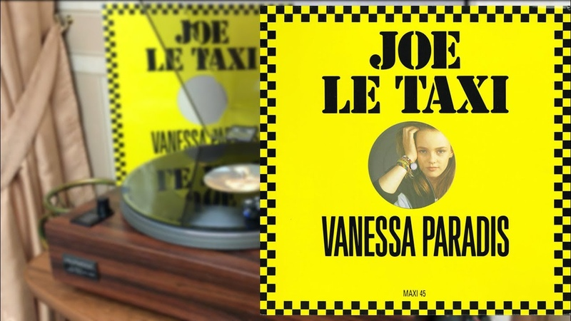 Vanessa Paradis Joe Le Taxi German Single 12