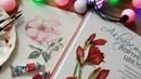 Как рисовать цветы шиповника акварелью ♡ Рисуем по книге Акварельные портреты цветов Katerina Rise